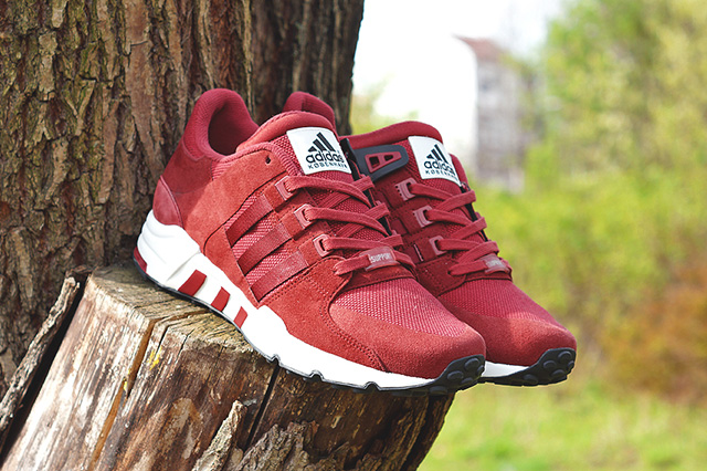 adidas eqt trainers red