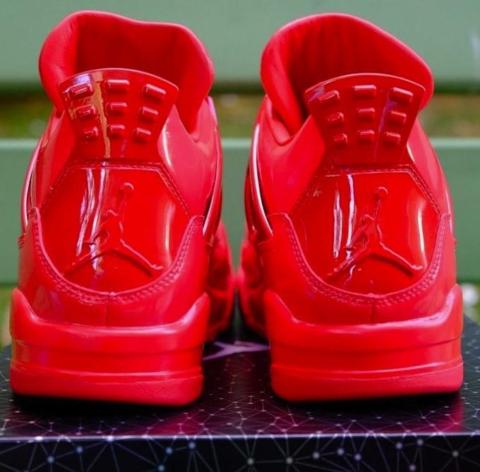 Les Rouges Universitaires Air Jordan 11 Laboratoire 4 5s