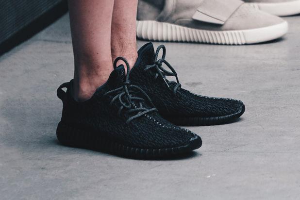 Adidas Yeezy 350 Boost  All-Black  - JustFreshKicks 69e981086