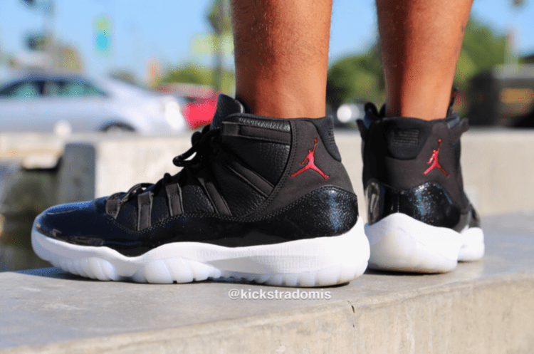 the latest 0b3f2 30629 On Feet Look at the upcoming Air Jordan 11 '72-10 ...