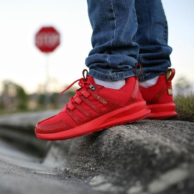 Adidas Sl Loop Runner Red Reptile