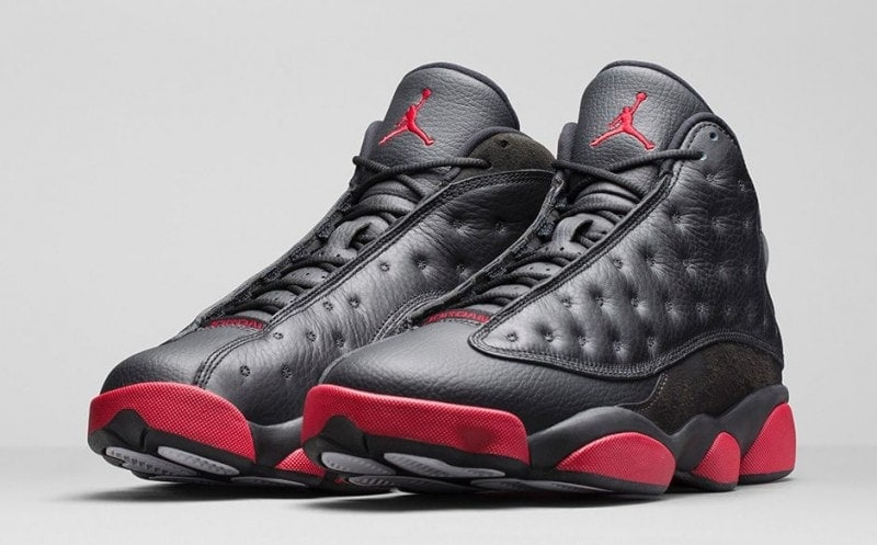 Air Jordan 13 Gs Rétro Gymnase Noir Rouge 13