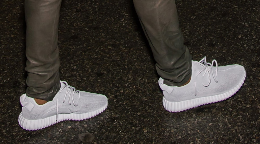 Another Look At The All White adidas Yeezy 350 Boost • Kicks On Fire