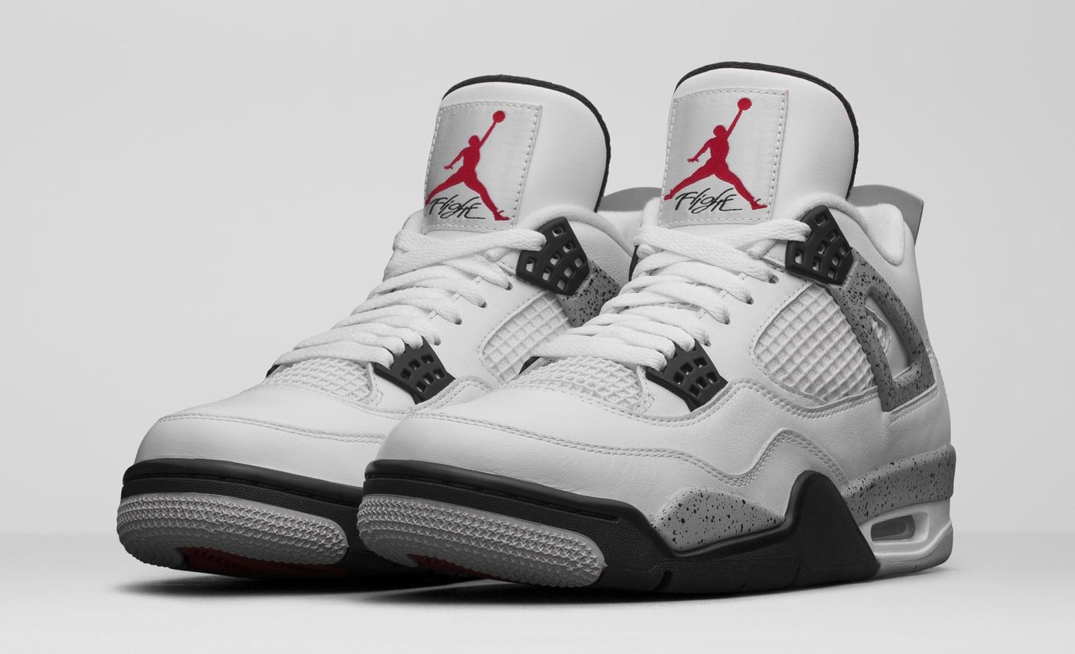 Air Jordan 4 De Ciment Blanc Prix 2016