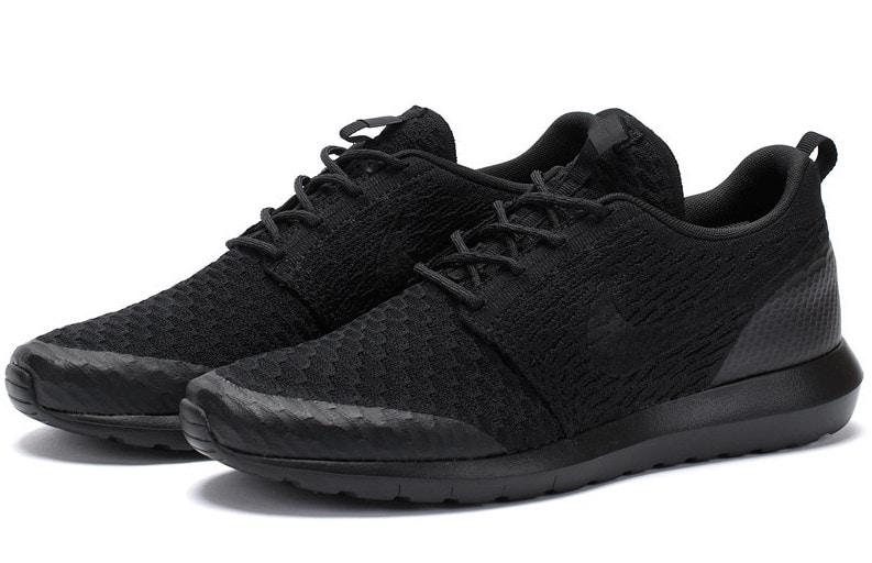 Nike Roshe Flyknit Triple Buyler Noir