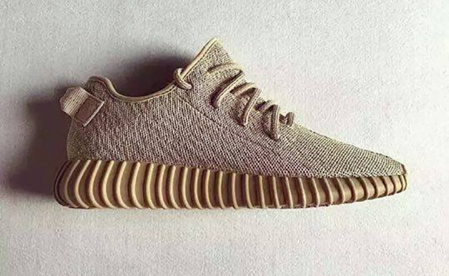 Yeezy Boost 350 « Moonrock » Sneak art