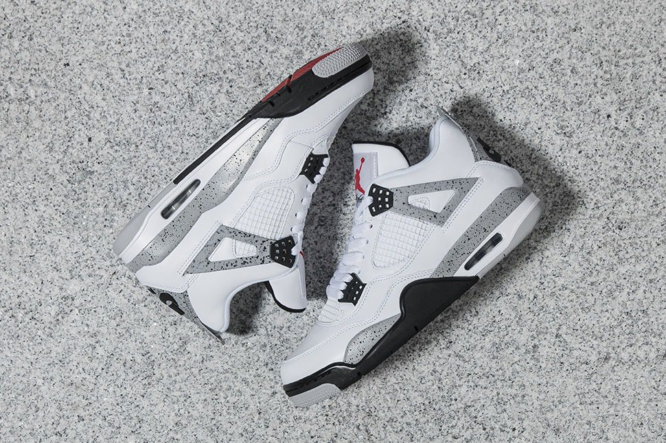 Nike Air Jordan 4 Retro Cement