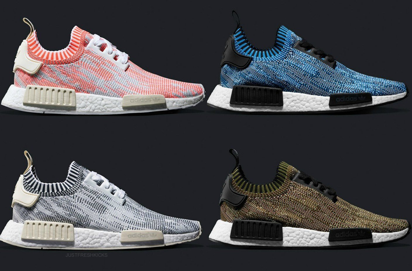 be555b0c46e3ef The Adidas NMD R1 Primeknit