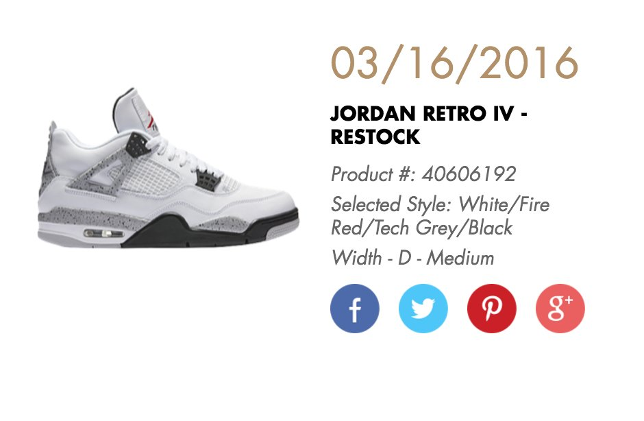 Air Jordan 4 Ciment Blanc 2016 Gs 350 6d0ANwg