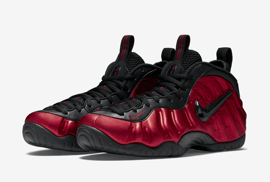 737095e255e364 Official Images of the Nike Air Foamposite Pro  University Red ...