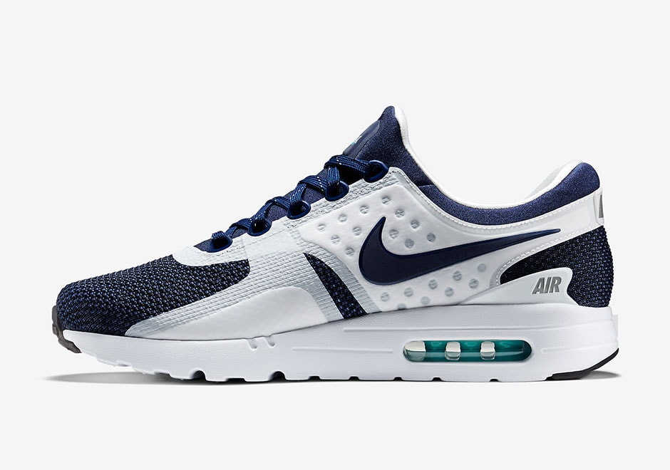 Air Max Zero Blue White