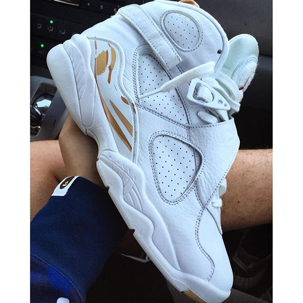 ee5c2ae5d244 In Hand Look at the Upcoming White Air Jordan 8 Retro
