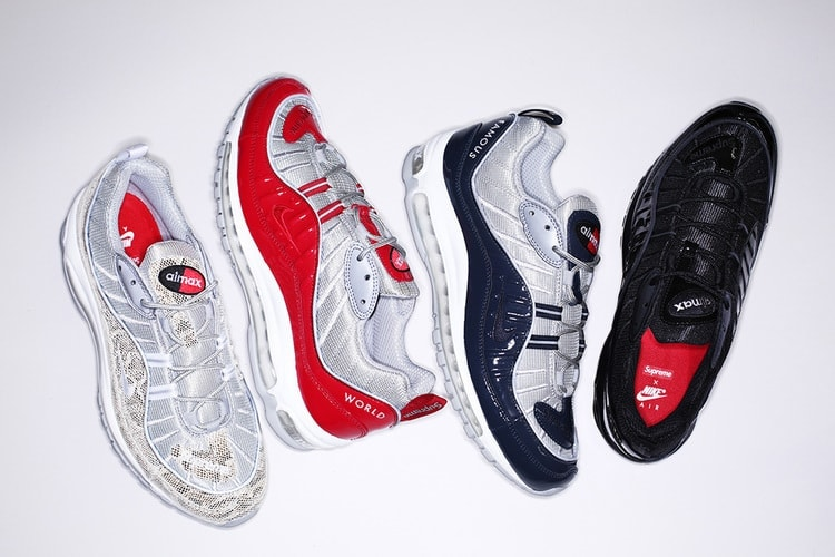 897217cd4559c The Supreme x Nike Air Max 98 Collection Releases This Week - JustFreshKicks