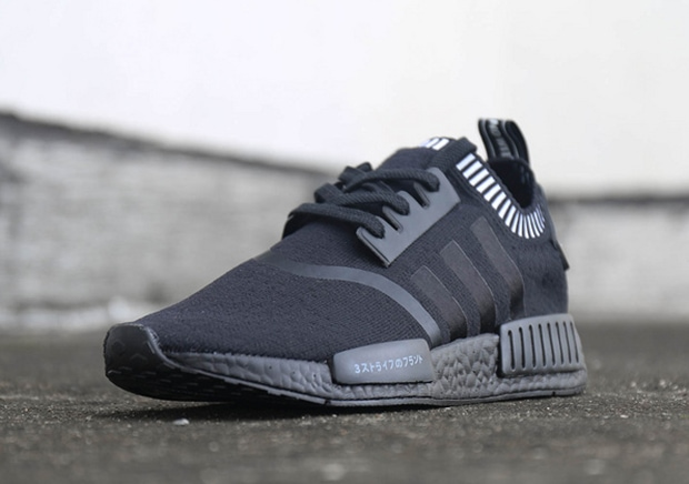 adidas nmd runner all black