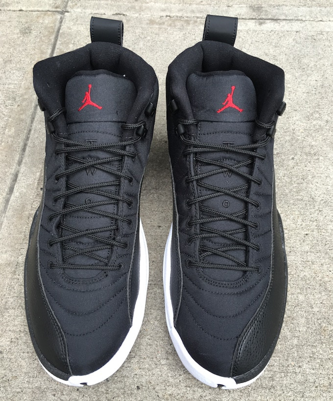 Jordan 12 Black Nylon