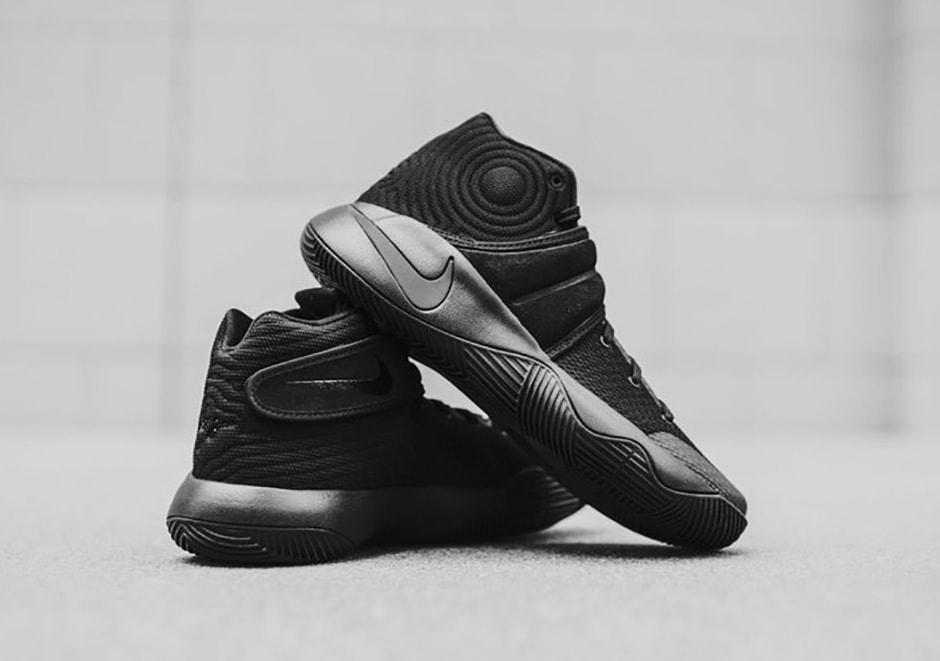 76f7b94bf86c Nike Kyrie 2  Triple Black  Release Date - JustFreshKicks