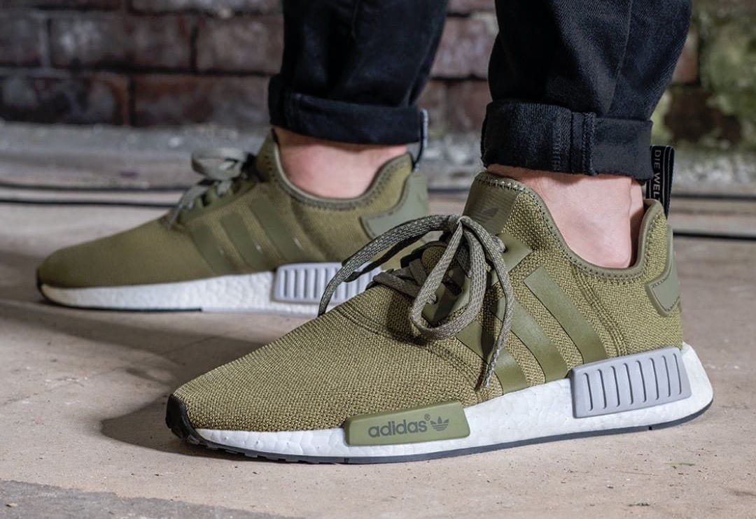 Adidas NMD Runner XR1 Duck Camo Green Army Military, Men's