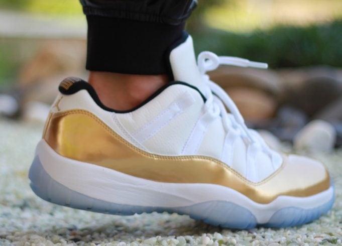Air Jordan 11 Low Gold
