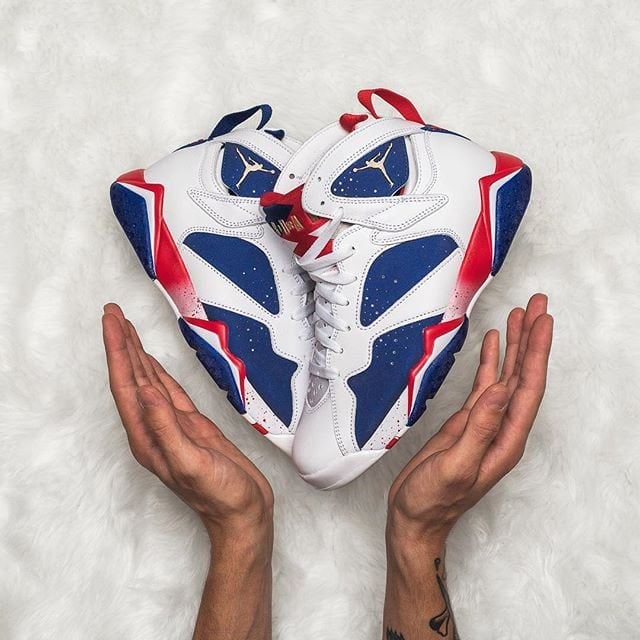 Air Jordan 7 Olympic Alternate