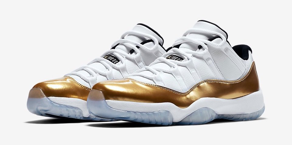Air Jordan 11 Low Closing Ceremony Gold Coin