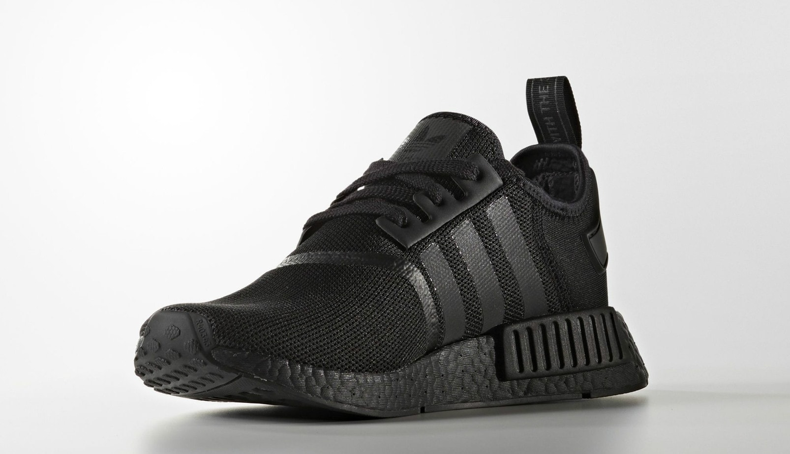 adidas nmd r1 triple black release date justfreshkicks. Black Bedroom Furniture Sets. Home Design Ideas