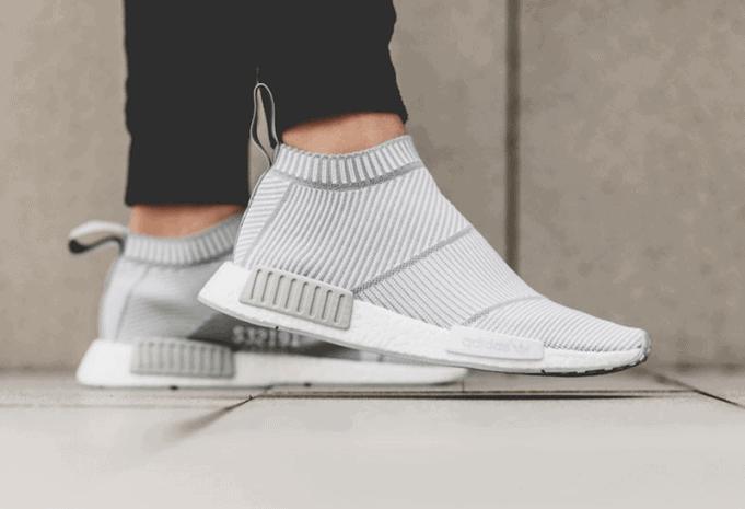 "570c1ab1b0f03 adidas NMD City Sock PK ""White Grey"" - JustFreshKicks"