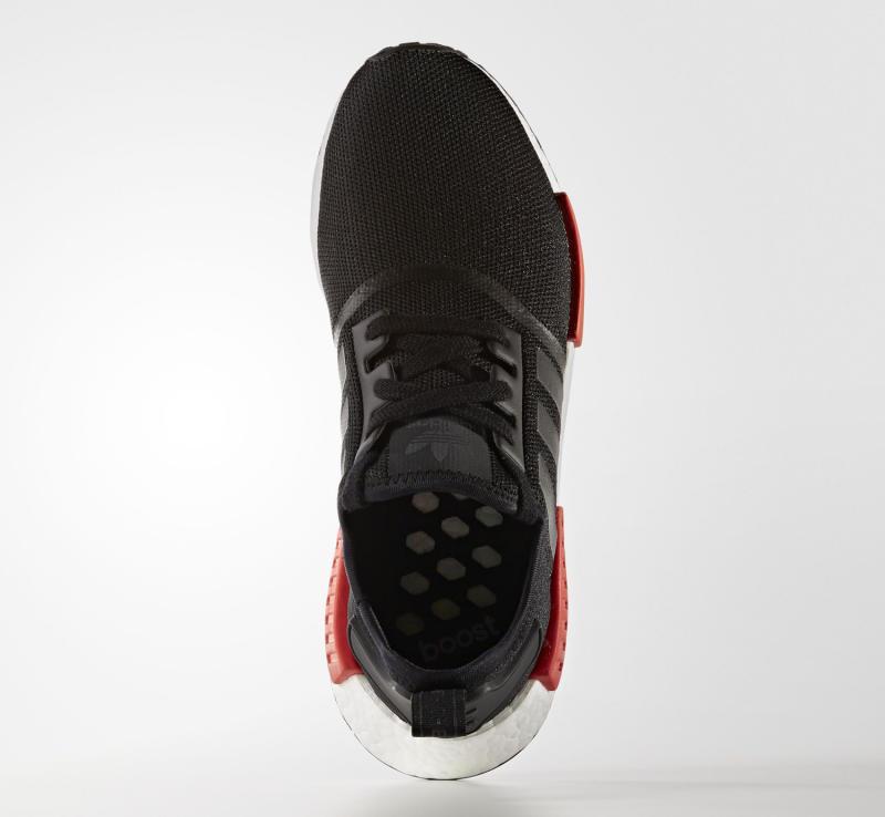 Adidas Blanco Rojo Negro R1 Nmd yTxVgs