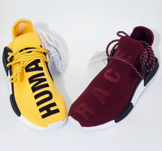 Adidas × Pharrell Williams NMD Human Race Red Review