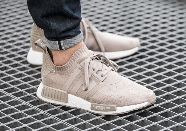 adidas NMD R1 Primeknit Triple White Japan