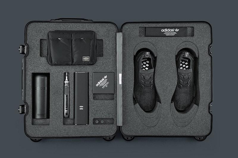 Adidas Nmd R1 Primeknit Pitch Black