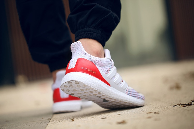 adidas-ultra-boost-multicolor-red-heel-on-foot-5