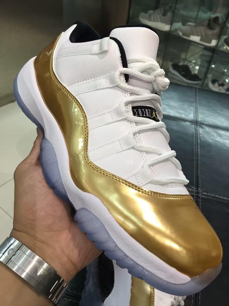 Air Jordan 11 Low Gold Coin