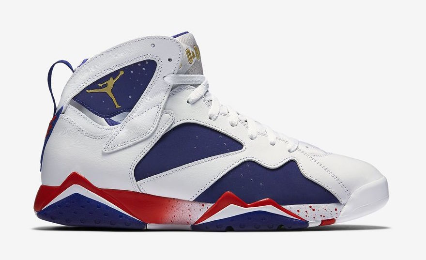 "Air Jordan 7 ""Olympic Alternate"""
