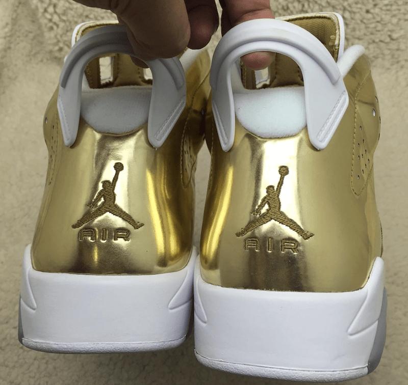 "The Air Jordan 6 Pinnacle ""Metallic Gold"""