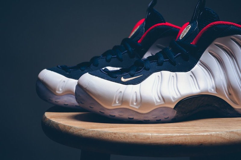 "Nike Air Foamposite One ""Olympic"""