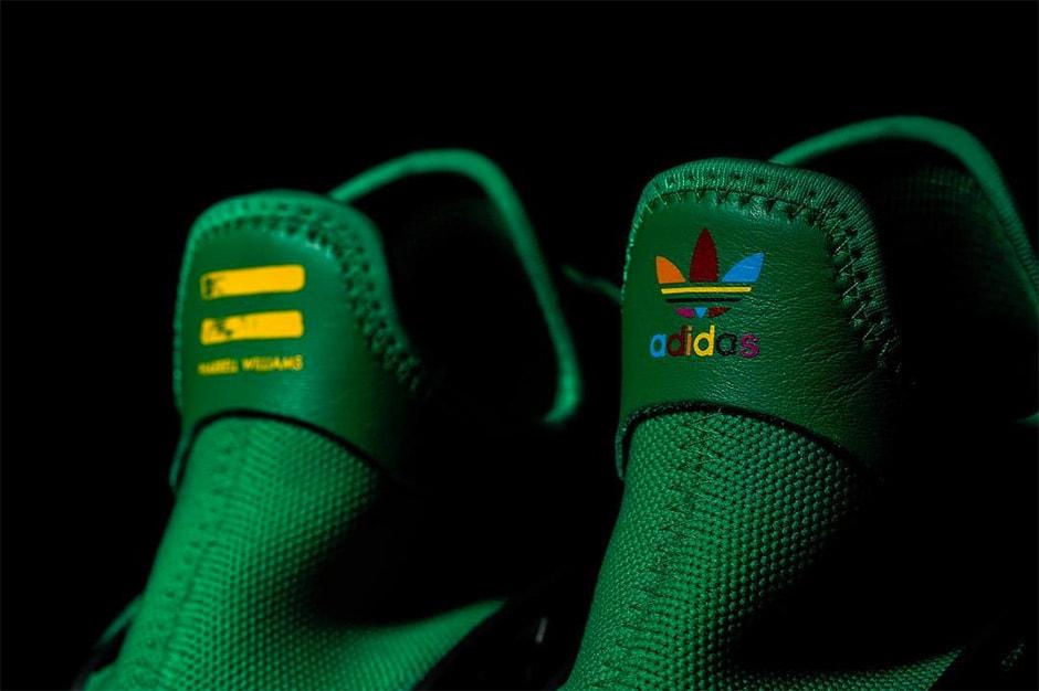 Pharrell adidas NMD Human Race Green