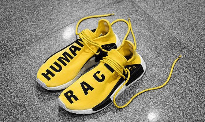UA NMD PW Human Race Yellow Black NMD Human Race Yellow