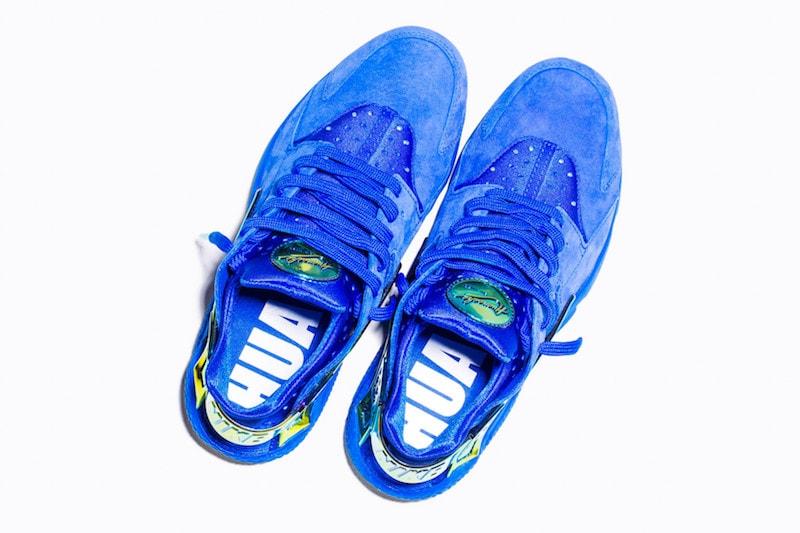 undefeated-nike-la-huarache-blue-suede-4