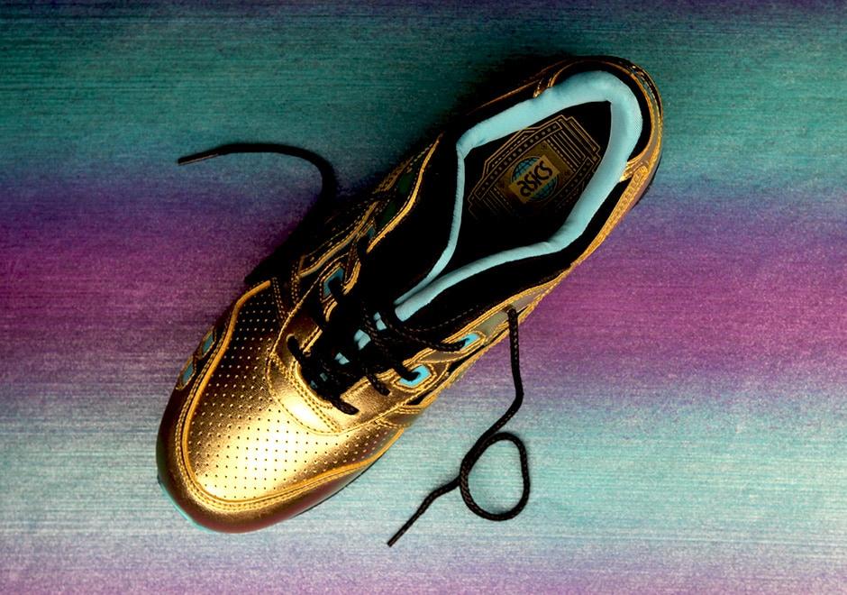 Wale x Villa x Asics Gel Lyte III Gold |