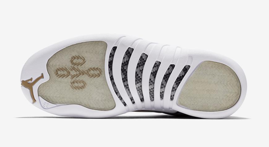 Air Jordan 12 OVO White Gold Release