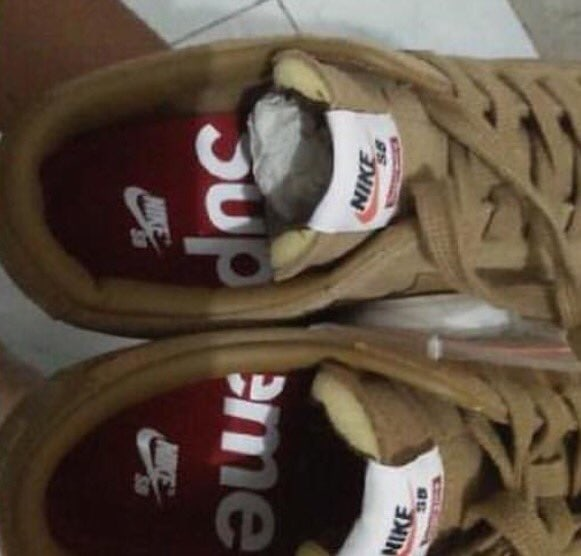 Supreme x Nike SB Blazer Low Fall 2016