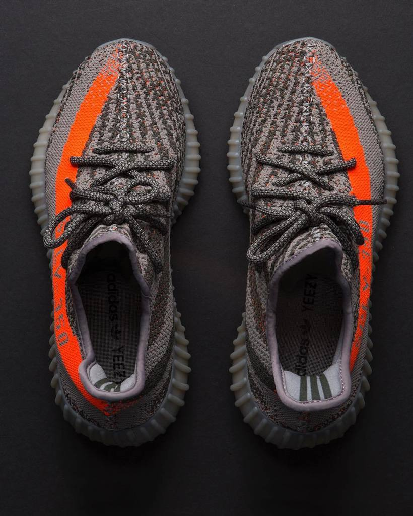 New The Newest UA Yeezy Boost 350 V 2 Beluga SPLY 350 Gray
