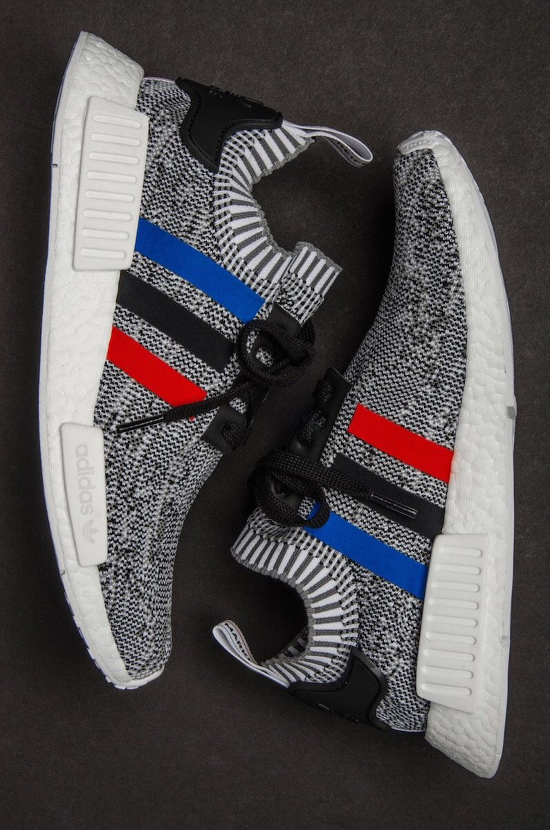 "A Detailed Look At The adidas NMD R1 Primeknit ""Tri Color Pack"