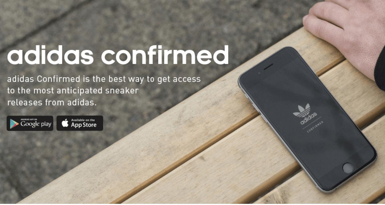 adidas Confirmed App Tips