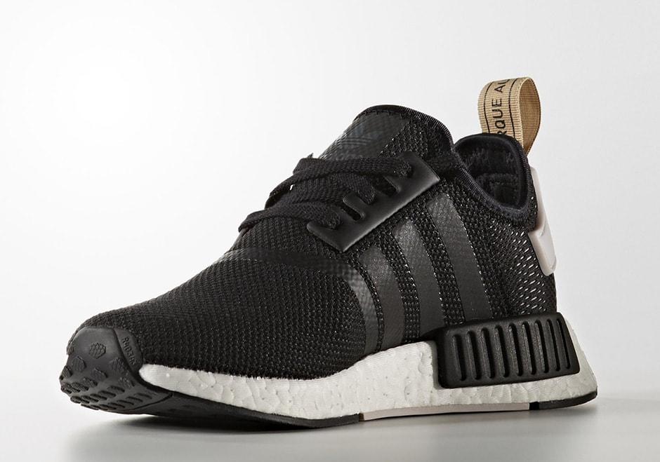 Adidas Ultra Boost Full Black Shoes, Adidas Nmd