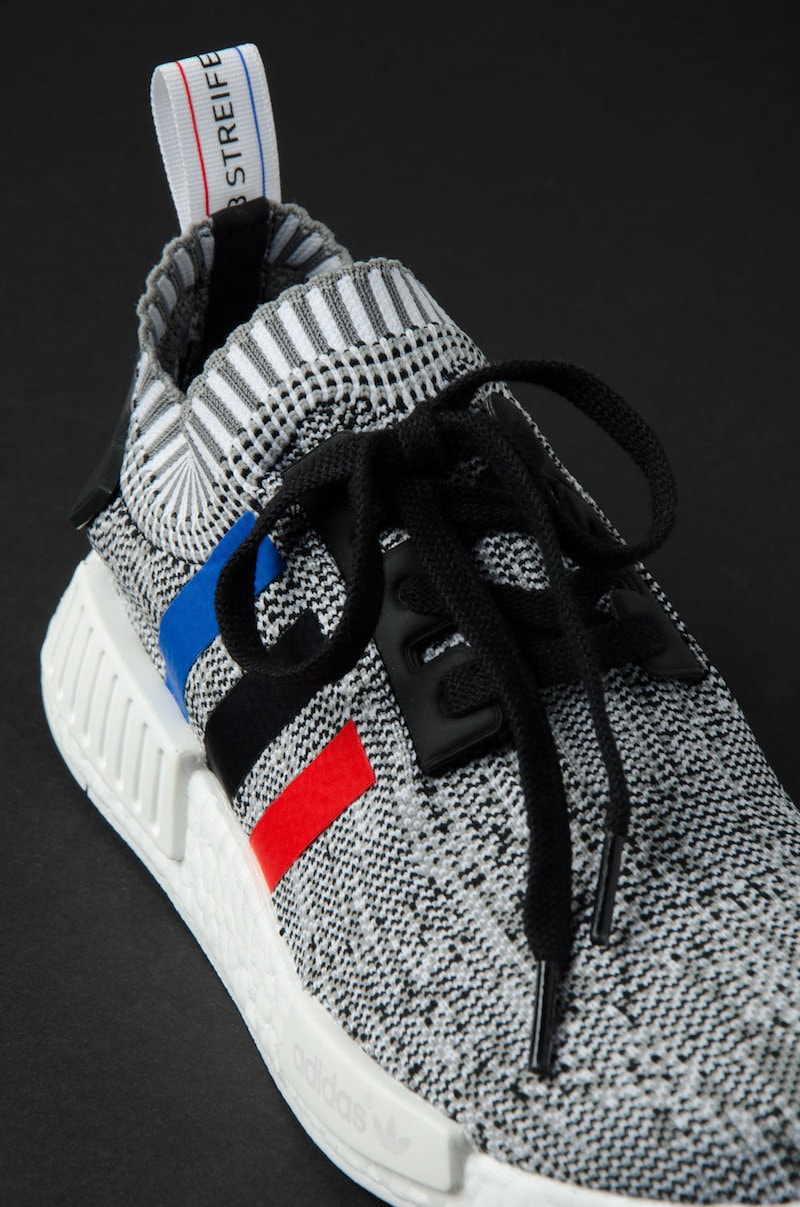 Adidas NMD R1 PK Primeknit Bb 2888 White Tri Color Mens Running