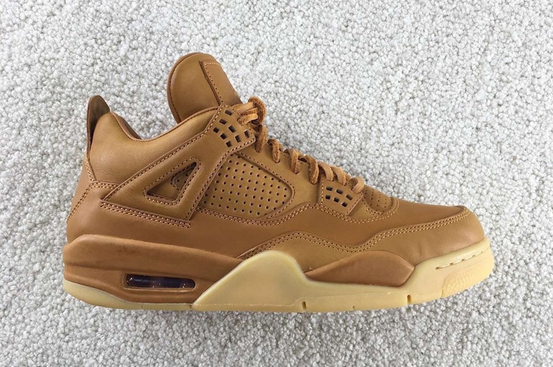 accba17d14f2 Air Jordan 4 Premium Ginger Wheat Gum Yellow - JustFreshKicks