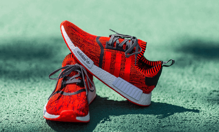 """a464e9f743779 adidas NMD R1 Primeknit """"Red Apple"""" NYC Exclusive Release Info"""