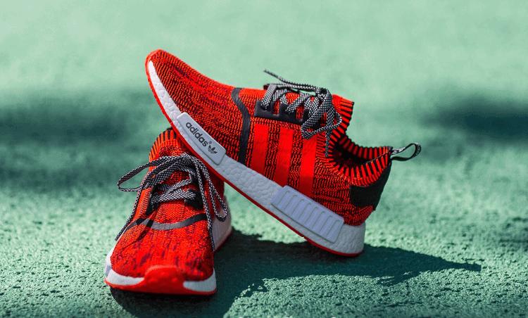 adidas nmd rossa