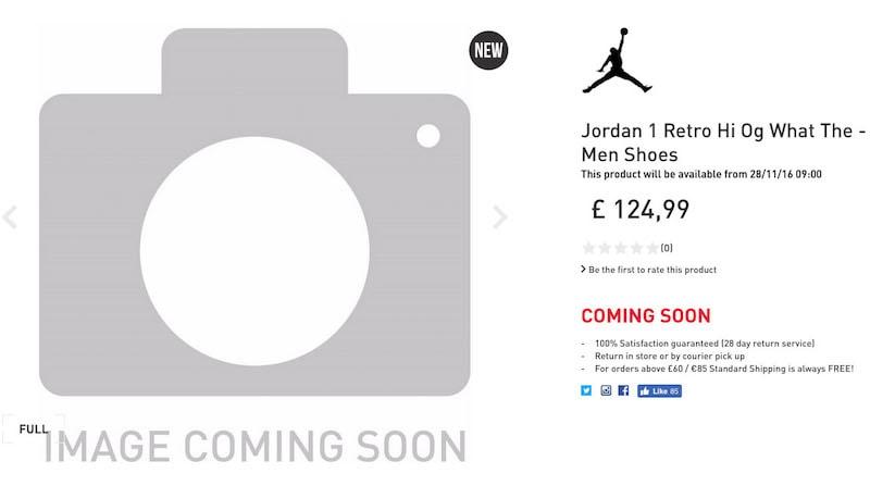 Air Jordan 1 Retro High What The Release
